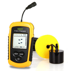 FF1108-1 Portable Fish Finder Sonar Sounder Alarm Transducer Fishfinder 0.7-100m ecoscandaglio da pesca