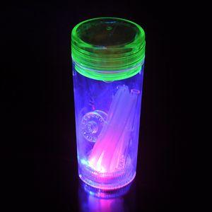Viele Farben LED Glas Wasser Bongs Rauchen Wasserpfeifen Kawumm Shishas Shisha-Pfeife Einzigartige Bong Bubblers