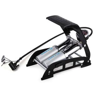 INBIKE Велоспорт велосипед шины высокого давления воздуха надувной насос ножной насос с манометром для автомобиля
