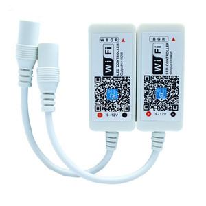 DC5-28V 12A Mini WiFi RGBW Controlador LED iOS Android Teléfono APLICACIÓN Control inalámbrico de WiFi para 3528 5050 RGBW LED Strip