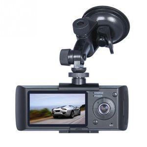 """고품질 대시 카메라 2.7 """"차량용 자동차 DVR 카메라 비디오 레코더 대쉬 캠 G- 센서 GPS 듀얼 렌즈 카메라 X3000 R300 차량용 DVR"""