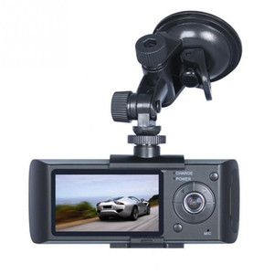 "Videocamera Dash Camera 2.7 ""di alta qualità Videocamera Car DVR Videocamera Dash Cam G-Sensore GPS Dual Lens Camera X3000 R300 DVR per auto"