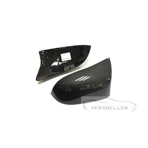 F15 venda quente espelho de carbono tampas de substituição para bmw x3 x4 x5 x6 atualização x5m x6m olhar oem fitment tampa do espelho lateral