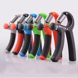 Apretones de mano ajustables Entrenamiento de dedos Heavy Reduce Pressure Gripper Gimnasio de alta resistencia Power Fitness Exerciser de calidad superior 8 5tt B