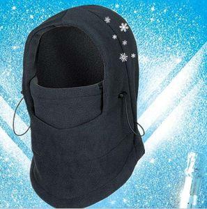Зимние тепловые маски Разминка Thicker подшлемник Hat Велоспорт спортивный капот Caps мотоцикл ветрозащитной лыжи Tactical Cs маска полнолицевыми