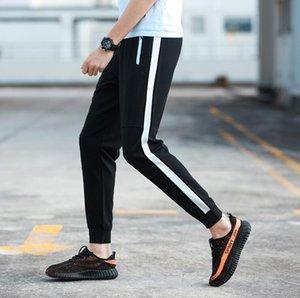 Nuevo deporte masculino Workout transpirable Sweatpants hombre de moda Running Pantalones Joggers hombres Footballs Track Pants Trousers