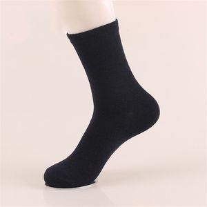 Business Herren Socken Harajuku Calcetines Hombre Plain Classic Socken Herren Atmungsaktive Socken aus fester Baumwolle 10 Stück = 5 Paar pro Los Ohne Karton