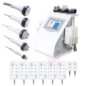 Tragbare Laser-Cellulite-Entfernung 3-Polar RF Hot Sale LLLT Fat 40K Cavitation Körper dünne Maschine