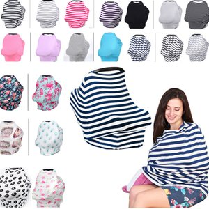 31 design Baby Car Seat Cover Toddler Nursing Cover Multi-Use Stretehy Infinity Scarf Breastfeeding Shipping Car Cove HH7-977