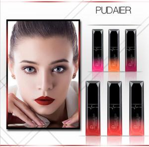 Verfassungs-Lippen Glosss-Lipgloss-langlebiges wasserdichtes Pigment-metallischer nackter flüssiger Lippenstift Bea466A DHL