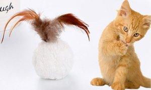 10pcs Katze Plüschkugel Spielzeug Mint Pet Katze Interactive Spielzeug Vogel-Feder-Teaser mit Katzenminze Katzenspielzeug Spielen Scratch Pet Produkte