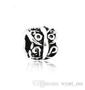Mélanger 8 Style Grand Trou Lâche Perles charme Pendentif Pour Pandora BRICOLAGE Bijoux Bracelet Pour Européen Bracelet Collier À La Main