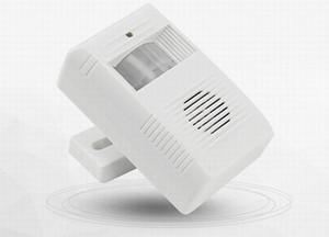 Беспроводной приветствие предупреждение дверной звонок Добро пожаловать перезвон датчик движения детектор сигнализации на складе быстрая отгрузка