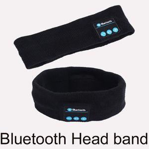 Bluetooth Headband Headphones pour femmes Homme Wireless Music Earphone pour dormir Yoga courant