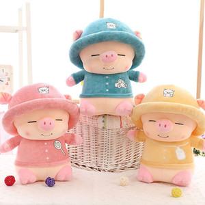 """Plush Pig bambole simpatico Piggy animale farcito Giocattoli per bambini da regalo Blu Rosa Scelta 8"""""""