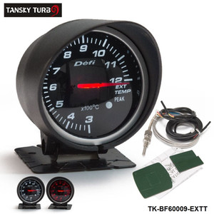 Tansky Universal Cars   Vehicle Meter   Gauge Defi 60mm Exhaust Gas Temperature EGT GAUGE Black Bracket original color box TK-BF60009-EXTT