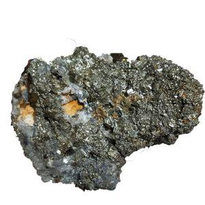 1 جهاز كمبيوتر شخصى حول 300 جرام عينات من الحجر الطبيعي البايرايت كريستال شفاء بالجملة ، شذرات البيريت الخام حقيقية