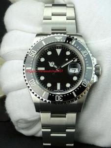 Negocio Automático Negro Dia Asia 2831 Fecha 43mm 50 Aniversario Cerámica Negro Dial 126600 Acero inoxidable Reloj automático para hombres Caja de regalo gratis