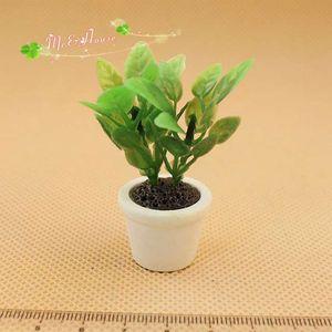1:12 Dollhouse Plant - Grüne Pflanze in einem Pot Dollhouse Miniature Park