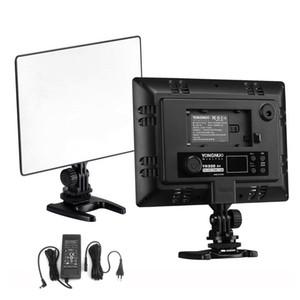 DSLR YONGNUO YN300 Air Ultra Thin CRI 95+ Led Panel de luz de video 3200-5500K Temperatura de color 2000LM para Canon Nikon Sony Cameras
