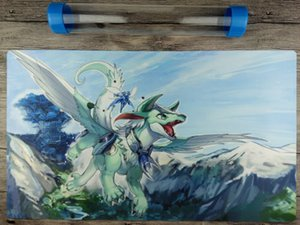 Imduk the World Chalice Dragon YuGiOh Playmat Free High Quality Tube[New&limite]