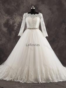 Wedding Dress Long Sleeves Bridal Gown Bride Wear Dress For Bride