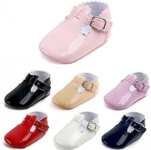 Atacado nova primavera, verão, outono e inverno baby girl shoes, um par de sapatos de criança, princesa, bebê antiderrapante, sapatos de passo