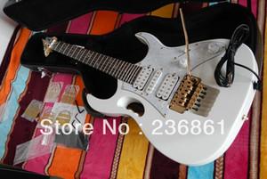 Atacado de qualidade superior IBZ JEM 7 V DiMarzio captador branco Guitarra Elétrica com CASE