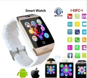Q18 Smart Wrist Watch with camera Bluetooth GSM Phone For Android Samsung iPhone