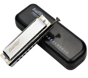 도매 - Easttop 반음계 하모니카 10 홀 40 톤 ABS 빗 Armonica Cromatica 입 Ogan 악기 가이아 드 보카 프로 페셔널