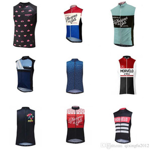 Morvelo Lace Men's Summer Sleeveless Jersey Top 100% Polyester Breathable Quick-drying Mountain Bike Bicycle Clothing Jersey Y052721
