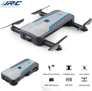JJRC H62 (SPLENDOR) Selfie RC Drone مع كاميرا 720P WIFI FPV التدفق البصري لتحديد المواقع طوي الذراع RC كوادكوبتر