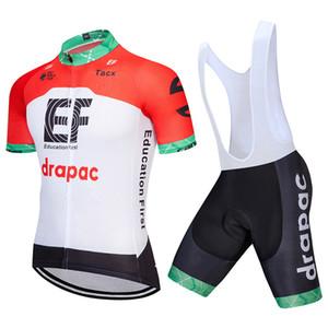 Nuevo EF Education First Summer Jerseys de ciclismo traje de manga corta hombres ropa de bicicleta Maillot Ciclismo Racing Bike ropa Sportwear 111901Y