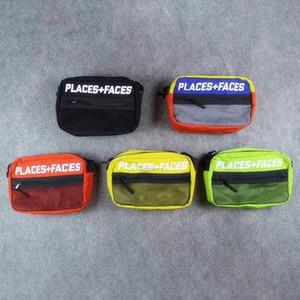 New Places + Gesichter 3M Reflective Skateboards Tasche P + F Nachricht Taschen Lässige Männer und Frauen-Hip-Hop-Umhängetasche Mini-Handy-Pack