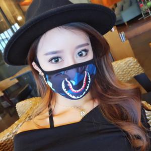Maschera di respirazione delle donne degli uomini hip-hop delle donne mens hiphop Maschere del partito della maschera della bocca Accessori di modo di Halloween di Masquerade del nuovo Nuovo