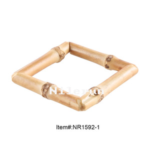 Fashion square bamboo root hairpin earrings necklace pendant belt jewel clothing garment apparel bags buckle accessories