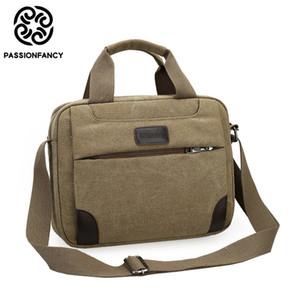 خمر حقيبة crossbody العسكرية قماش حقائب الكتف الرجال رسول حقيبة الرجال عارضة حقيبة حمل حقيبة الأعمال لجهاز الكمبيوتر