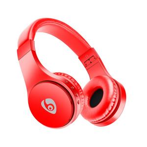 Auriculares inalámbricos Bluetooth Auriculares para juegos Tarjeta de soporte de música estéreo Tarjeta TF con micrófono Diadema plegable Auriculares de estudio Mejor Marshall