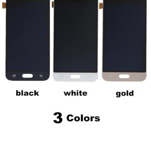 j120f lcd para Samsung J120f J1 2016 J120 J120M J120H Reemplazo de la asamblea del digitizador de la pantalla táctil de la pantalla LCD, brillo ajustable