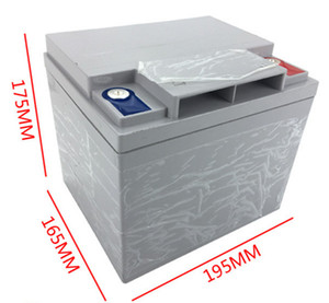 12.8V 50Ah 2000cycles rápida 80A Discharge AGV Traction Car bateria recarregável LiFePO4 Battery Replacement Lead Acid Battery