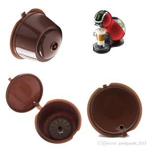 Cápsula de café con 1 UN. Cuchara de plástico Recargable Cápsula de café 200 veces reutilizable Compatible para Nescafé Dolce Gusto c475