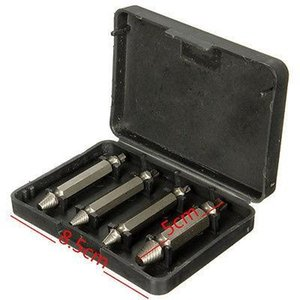 4341 Damaged Screw Extractor Bolt Extractors Set High Speed Steel 4pcs lot fast shipment in stock