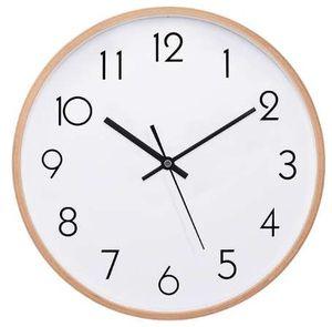 12 pouces série grand en bois horloges murales mouvement silencieux mur non horloge horloges murales salle bureau simple concise décor à la maison ligne 3d