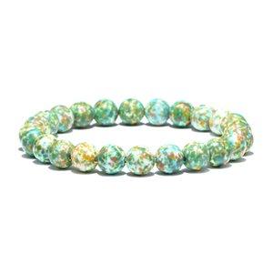 Bohomian Style Pierre Naturelle Perles Bracelet Minimaliste Charme Strand Chaîne Pour Femmes D'été Plage Main Bijoux Joyas Pulsera