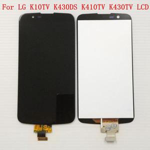 Panel táctil digitalizador completo + Pantalla LCD con IC en el ensamblaje de flex (Not For K10 LTE) para LG K10 TV K10TV K430TV K410TV
