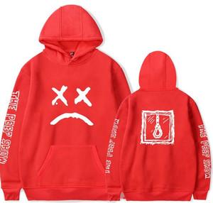 Hip Hop Rapper Lil Peep Sweatshirt Streetwear Hoodie Männer Frauen Hoodies 2018 Neue Pullover Männer Langarm Oversized 4XL