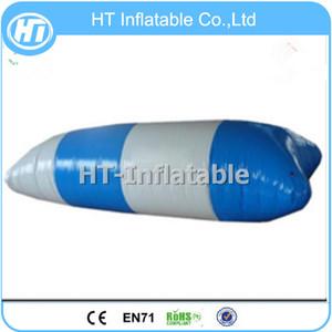 Ücretsiz Kargo 8x3 m En Kaliteli Şişme Su Mancınık Blob / Su Blob / Su Trambolin Satılık Ücretsiz Bir Pompa