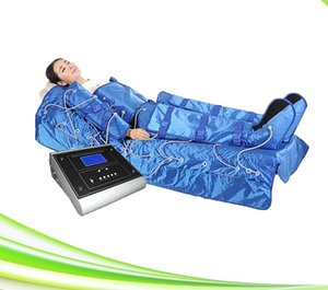 Máquina de masaje de drenaje linfático por compresión de aire infrarrojo profesional 3 en 1 que adelgaza el sistema de terapia metabólica linfática para la venta