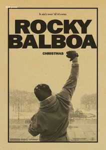 Classico film ROCKY Vintage Paper Retro anime poster / ROCKY Stallone Poster Home Wall sticker Decor