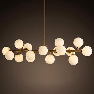 Mordern Retro luces colgantes lustres de sala industriel lámpara colgante de hierro para la cocina comedor Accesorios luminaria iluminación
